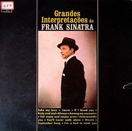 LP - Frank Sinatra – Grandes Interpretações de Frank Sinatra