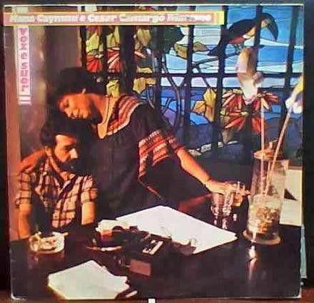 LP - Nana Caymmi e César Camargo Mariano – Voz E Suor