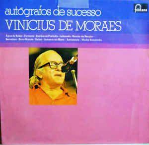 LP - Vinicius De Moraes – Autógrafos de Sucesso