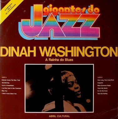 LP - Dinah Washington – A Rainha Do Blues
