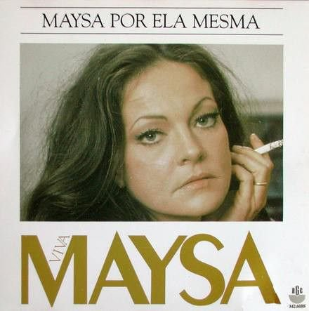 LP - Maysa – Maysa Por Ela Mesma
