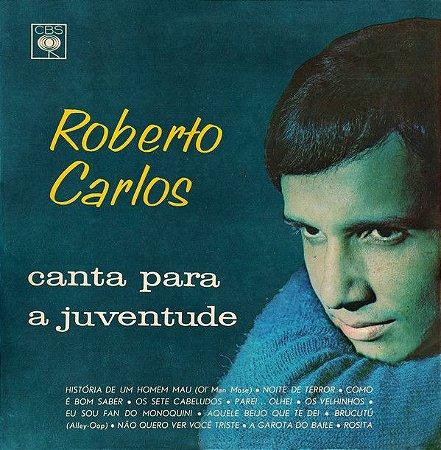 LP - Roberto Carlos – Canta Para A Juventude