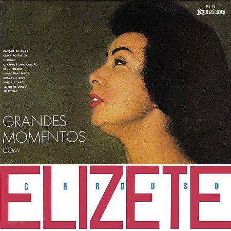 LP - Elizete Cardoso – Grandes Momentos com Elizete Cardoso