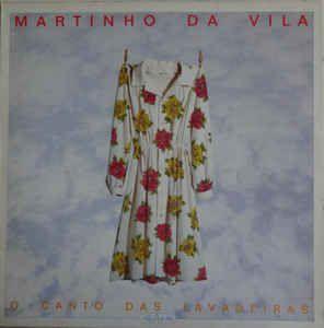 LP - Martinho Da Vila – O Canto Das Lavadeiras