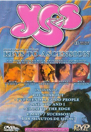 DVD - Yes – Keys To Ascension
