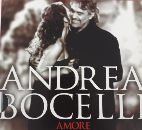 CD - Andrea Bocelli – Amore (Novo)