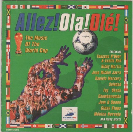 CD - Allez!Ola!Olé! - The Music Of The World Cup (Vários Artistas)