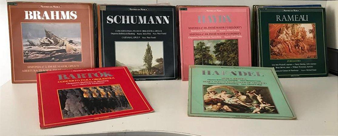 Coleção: Mestres da Música. ( 61 lps )