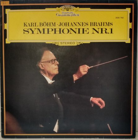 Karl Böhm – Johannes Brahms - Symphonie Nr. 1
