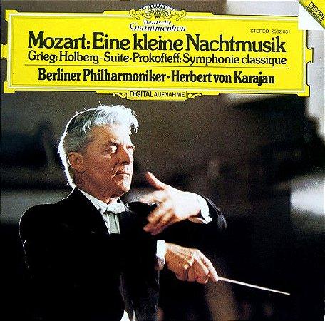Mozart, Grieg, Prokofieff, Berliner Philharmoniker · Herbert von Karajan – Eine Kleine Nachtmusik · Holberg-Suite · Symphonie Classique