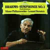 Brahms - Symphonie No.3 - Haydn-Variationen - Orquestra Filarmônica - Leonard Bernstein