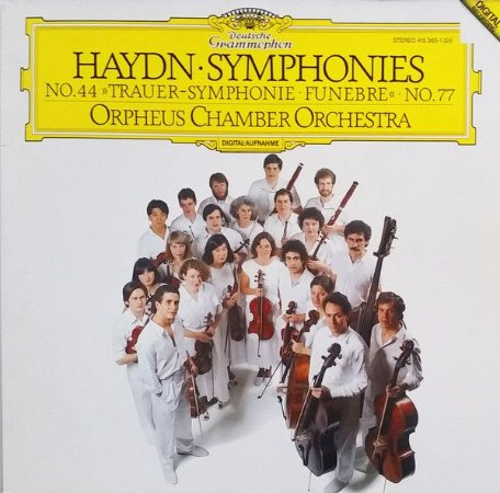Haydn ‎– Symphonies No. 44 Trauer-Symphonie • Funebre No. 77 - Orpheus Chamber Orchestra