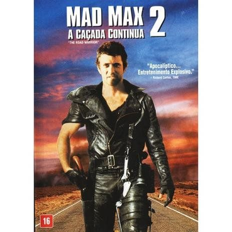 DVD - MAD MAX 2 - A CAÇADA CONTINUA  (Lacrado)