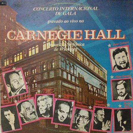 LP - Concerto Internacional de Gala Gravado ao Vivo Carnegie Hall - Orquestra Sinfônica de Winnipeg