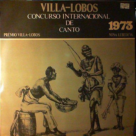 Nina Lebedeva, Villa Lobos – Concurso Internacional De Canto 1973