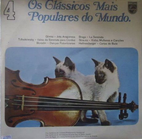 Various ‎– Os Clássicos Mais Populares Do Mundo Vol.04