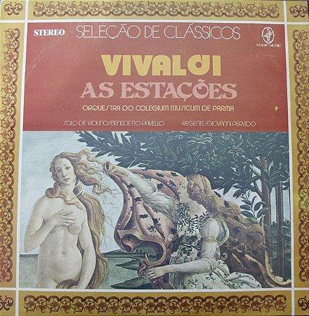 LP - Vivaldi, Orquestra Do Coleguim Musicum De Parma – As Estações