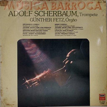 LP - Adolf Scherbaum - Música Barroca