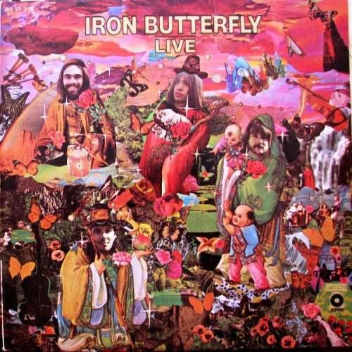 CD - Iron Butterfly – Live IMP. USA
