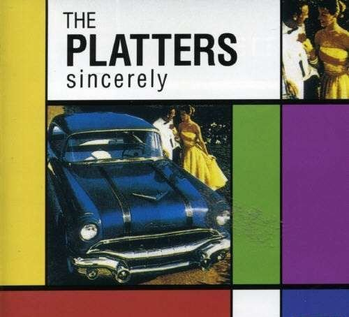 CD -  The Platters ‎– Sincerely - Imp. Germany