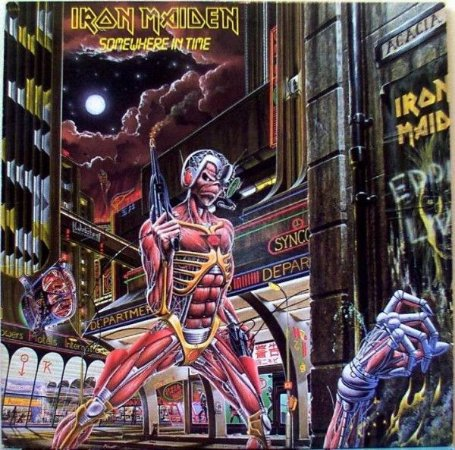 CD - Iron Maiden ‎– Somewhere In Time (duplo) - IMPORTADO