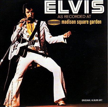 CD - Elvis Presley – Elvis As Recorded At Madison Square Garden