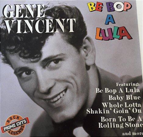 CD - Gene Vincent - Be Bop A Lula - IMP