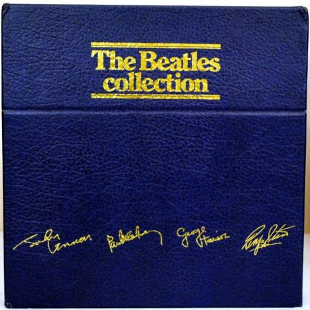 LP - Coleção: The Beatles – The Beatles Collection (BOX azul com 14 LPs) IMP - France