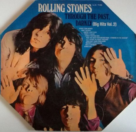 LP - The Rolling Stones – Through The Past, Darkly (Big Hits Vol. 2) -1970