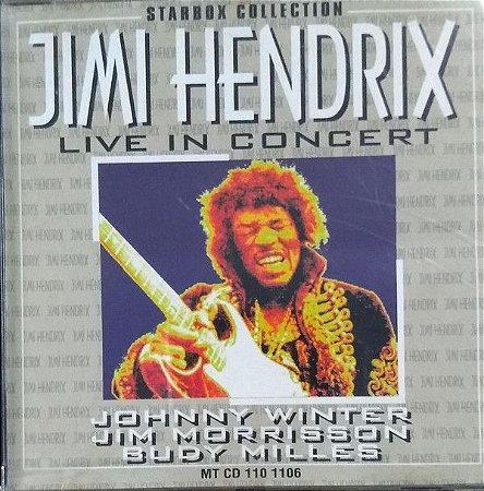 CD -  Jimi Hendrix – Jimi Hendrix Live In Concert