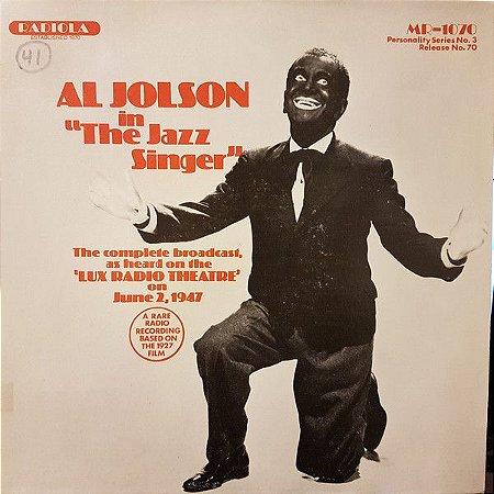 LP  Al Jolson – The Jazz Singer -  Personality Series (3) – No. 3