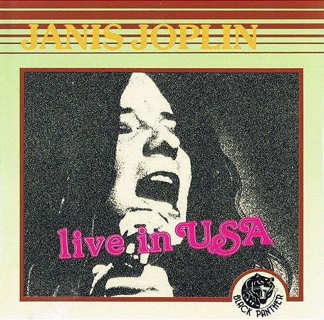CD - Janis Joplin – Live In USA - IMP