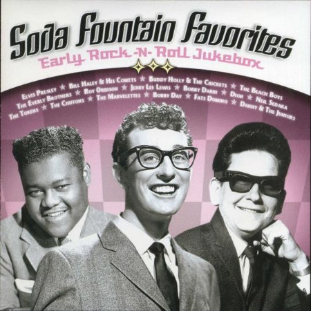 CD - Various ‎– Soda Fountain Favorites: Early Rock-N-Roll Jukebox - IMP