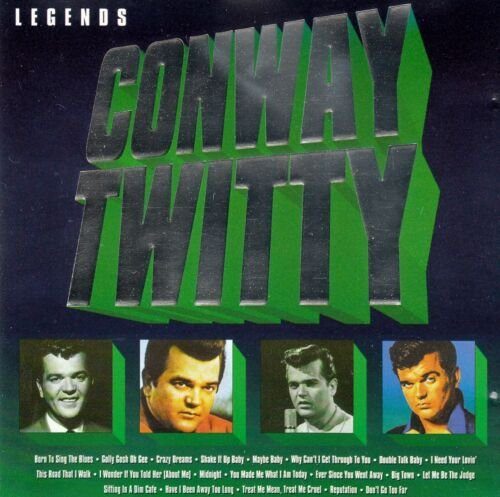 CD  - Conway Twitty – Legends - Conway Twitty - IMP