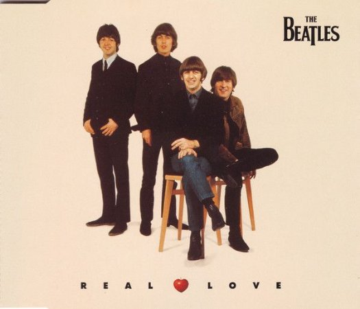 CD = The Beatles ‎– Real Love (CD SINGLE)