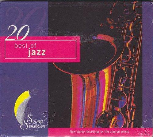 CD - Various – 20 Best Of Jazz (Importado - Canadá) - Digipack - IMP