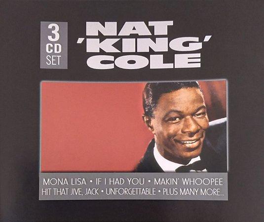 "CD- Nat ""King"" Cole (Importado) - cd triplo"