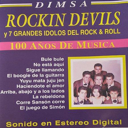 CD - Rockin Devils Y 7 Grandes Idolos Del Rock & Roll (Importado - México) (Vários Artistas)