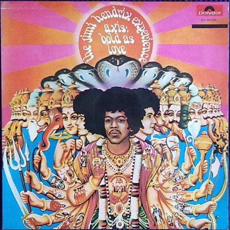 LP The Jimi Hendrix Experience ‎– Axis: Bold As Love