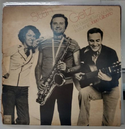 LP - Stan Getz Featuring Joao Gilberto – The Best Of Two Worlds