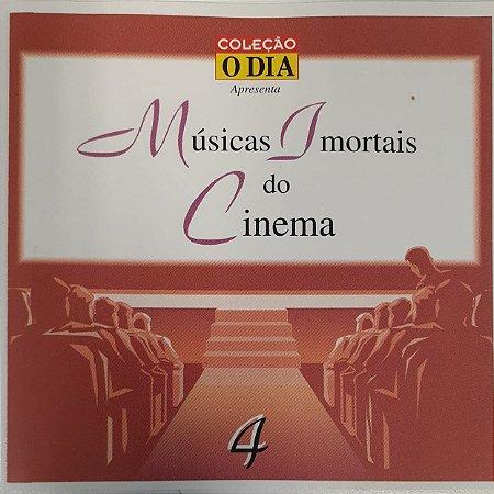 CD - Coleção Musicas Imortais do Cinema - Volume 4 - Coleção O DIA (Vários Artistas)