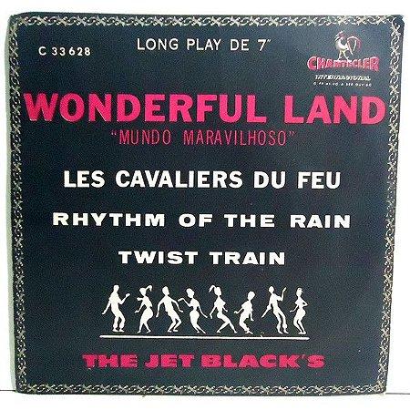 "Comp - The Jet Black's – Wonderful Land Of The Jet Black's (7"", 33 ⅓ RPM, EP) - 1964"