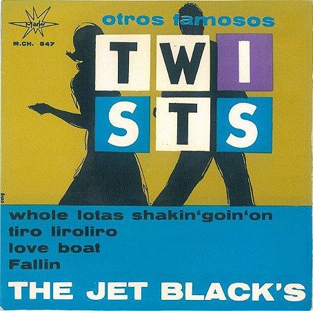 "Comp - The Jet Black's – Otros Famosos Twists (Vinyl, 7"", Single)"