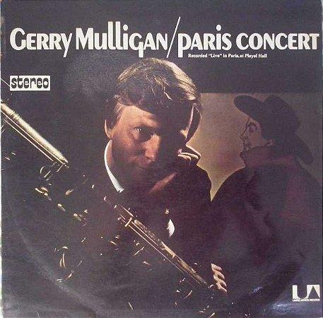 LP - Gerry Mulligan – Paris Concert