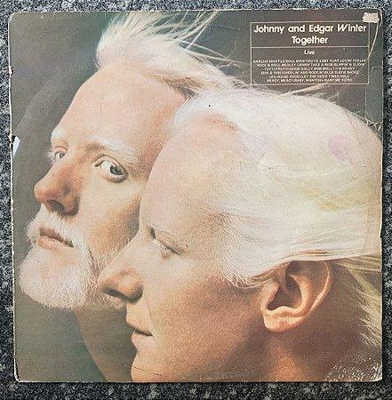 LP -  Johnny & Edgar Winter – Together