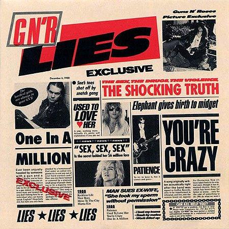 CD - Guns N' Roses – G N' R Lies