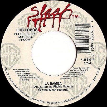 Compacto - Los Lobos – La Bamba (45 RPM) Edição de 1987 - Importado (US)