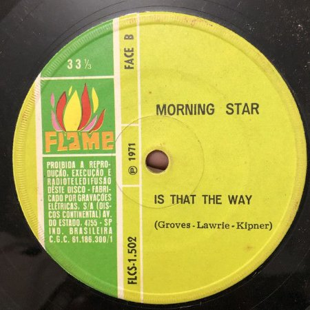 Compacto - Morning Star – Help (Get Me Some Help) e Thats The Way