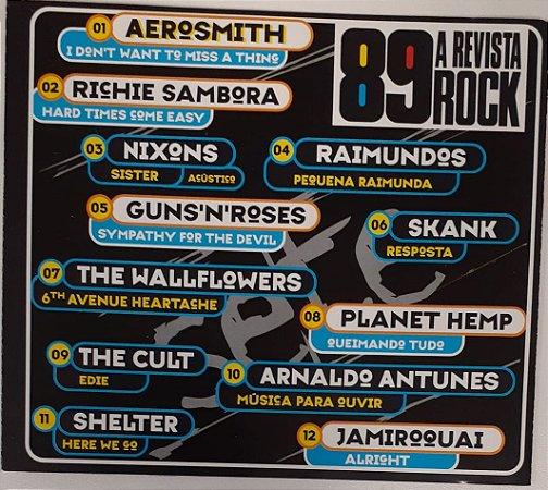 CD - 89 Revista Rock - n° 7