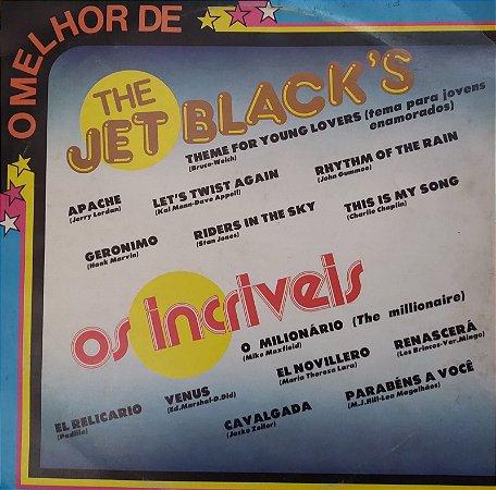 LP - The Jet Black's / Os Incríveis - 1982